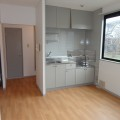 DK(キッチン)・写真はA棟1号室となります。