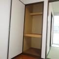 収納(洋室)・写真は101号室のものとなります。