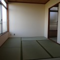 和室(6畳)・写真は203号室のものとなります。