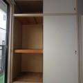 収納(和室)・写真はA棟1号室となります。