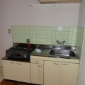 キッチン・写真はE号室のものとなります。