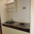 キッチン・写真は202号室のものとなります。