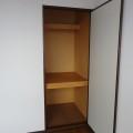 収納(洋室)・写真は102号室のものとなります。