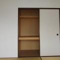 和室6帖収納・写真は201号室