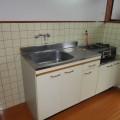 キッチン・写真は101号室のものとなります。