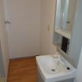 洗面所・写真はA棟1号室となります。