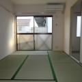 和室ベランダ側・写真は202号室のものとなります。