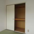 収納(4畳半和室)・写真は205号室のものとなります。