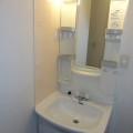 洗面所・写真は201号室のものとなります。