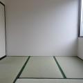和室(4畳半)・写真は101号室のものとなります。