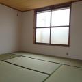 2F和室(南側)・写真は1号室のものとなります。