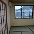 和室(窓向き)・写真は302号室のものとなります。