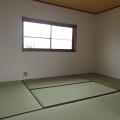 2F和室(北側)・写真は1号室のものとなります。