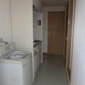 キッチンスペース・写真は201号室のものとなります。