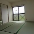 和室西側・写真は201号室のものとなります。