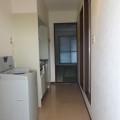 廊下・写真は411号室のものとなります。