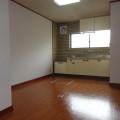 キッチンスペース・写真は1号室のものとなります。