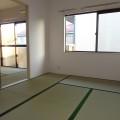和室西側・写真は202号室のものとなります。