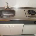 キッチン・写真は401号室のものとなります。
