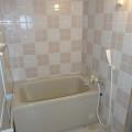 浴室・写真は11号室のものとなります。