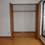洋室南側収納・写真はA号室のものとなります。