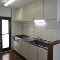 システムキッチン(ガスコンロ付)・写真は3号室