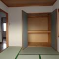 2F和室押入れ・写真は1号室のものとなります。