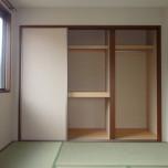 和室収納・写真はD210号室