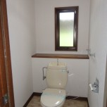 トイレ・写真は1号室のものとなります。