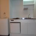 キッチン・写真は201号室のものとなります。
