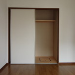 洋室収納・写真は105号室のものとなります。
