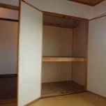 6帖和室押入れ・写真は3号室