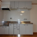 キッチン・写真は103号室のものとなります。