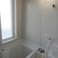 洗面所、浴室・写真は1号室のものとなります。