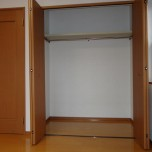 洋室北側収納・写真はA号室のものとなります。