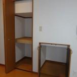 階段下収納・写真はA号室のものとなります。