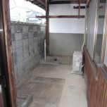 玄関前専用スペース