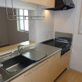 キッチン(IHコンロ付)・写真は203号室