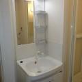 洗面所・写真は106号室のものとなります。