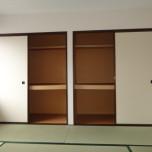 和室収納:写真は201号室