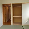 和室押入れ・写真は203号室