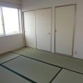 和室6帖(北側)・写真は101号室のものとなります。