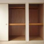 和室6帖(北側)収納・写真は101号室のものとなります。