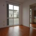 洋室6帖(南側)・写真は101号室のものとなります。