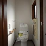 洗浄便座付トイレ