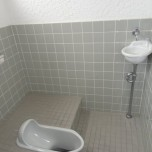 和式汲取りトイレ