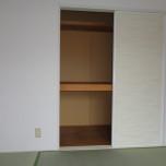 和室収納・写真はB202号室
