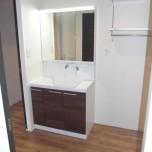 洗面所(洗髪洗面台付)・写真は202号室