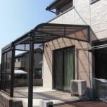 屋根付きテラス