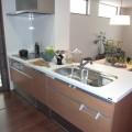 カウンターキッチン(食器洗浄機・IHコンロ付)(家具・照明器具は附属しません)